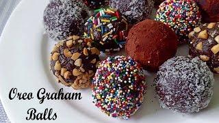 Oreo Graham Balls Recipe | Graham Balls