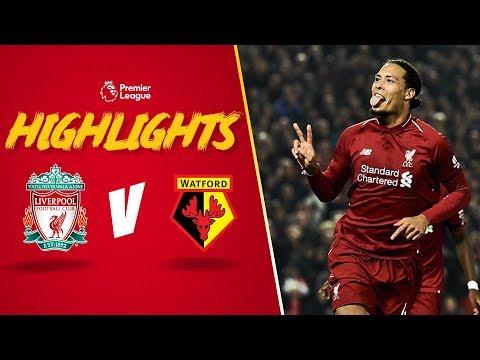 Mane's cheeky backheel finish   Liverpool 5-0 Watford   Highlights