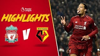 Mane's cheeky backheel finish | Liverpool 5-0 Watford | Highlights