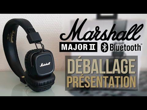 Déballage Présentation Du Casque Marshall Major Ii Bluetooth