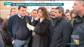 Tagadà - Banche, i M5S in piazza a Siena (Puntata 16/02/2017)