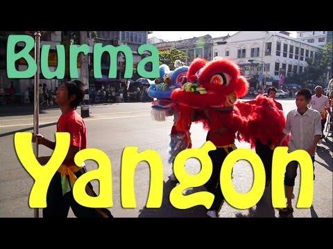 Rangoon (Yangon) Burma (Myanmar)