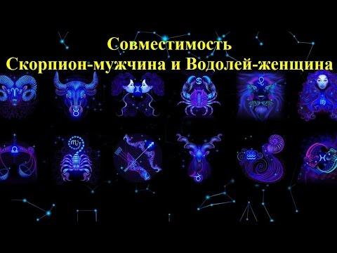 совместимость для брака по знаком зодиака мужчина скорпион