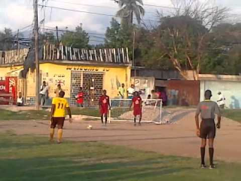 SHELLY ANN FRASER PRYCE FOOTBALL COMPETITION