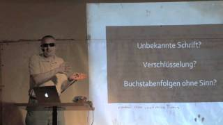 Das Voynich-Manuskript - Klaus Schmeh - Science Slam - Bochum