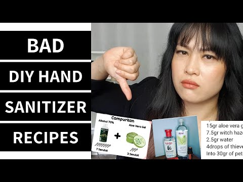 Good and Bad DIY Hand Sanitizer Recipes   Lab Muffin Beauty Science