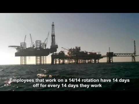 Hiring on offshore oil rigs