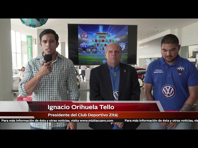 El Club Deportivo Zitácuaro anunció la