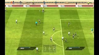 FIFA 11 PC Gameplay Corinthians x Santos