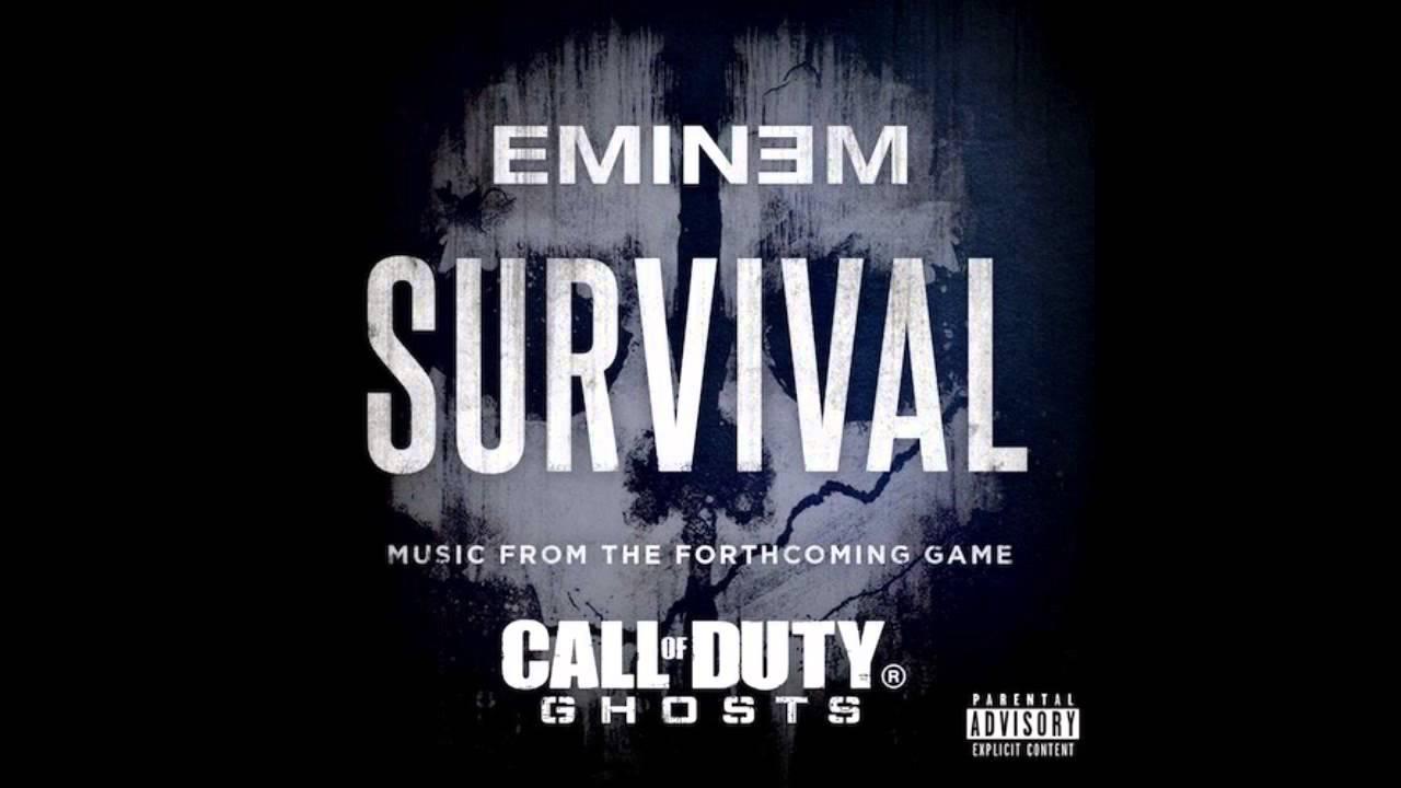 Survival - Eminem Ft. (Liz Rodrigues) - YouTube Eminem Survival Album Cover