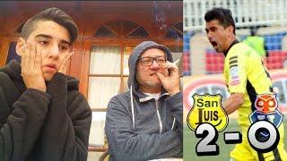 REACCION SAN LUIS 2 VS U.DE CHILE 0 - GOLAZOS EN QUILOTA
