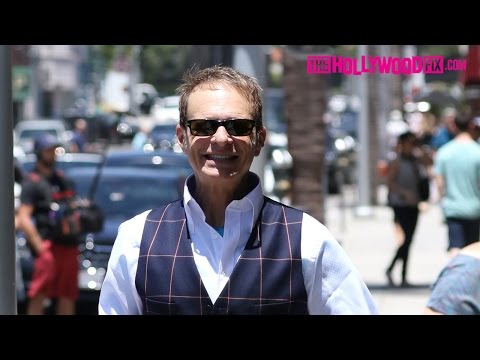 David Lee Roth From Van Halen Spotted In Beverly Hills 6.24.15 - TheHollywoodFix.com