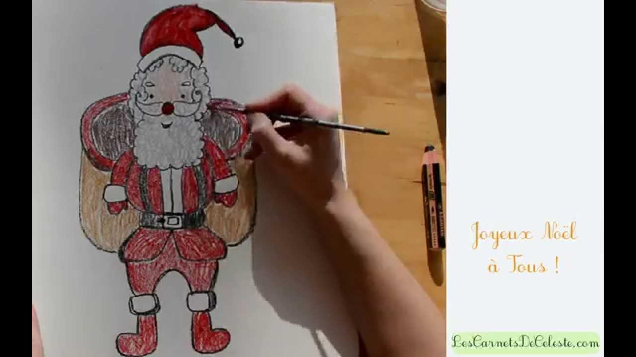 Comment Dessiner Le Père Noël
