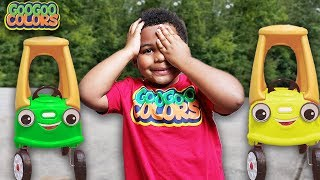 TALKING CAR PLAY HIDE N SEEK WITH GOO GOO GAGA! Learn to Count to 10