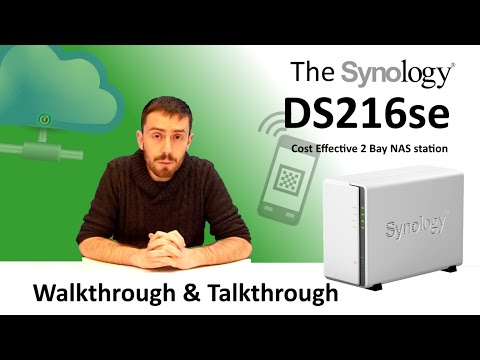 The Synology DS216se 2 Bay NAS - Walkthrough and Talkthrough with SPANTV