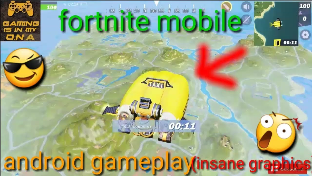 FORTCRAFT ANDROID GAMEPLAY+DOWNLOAD(FORTNITE BETA ON MOBILE)😲!!