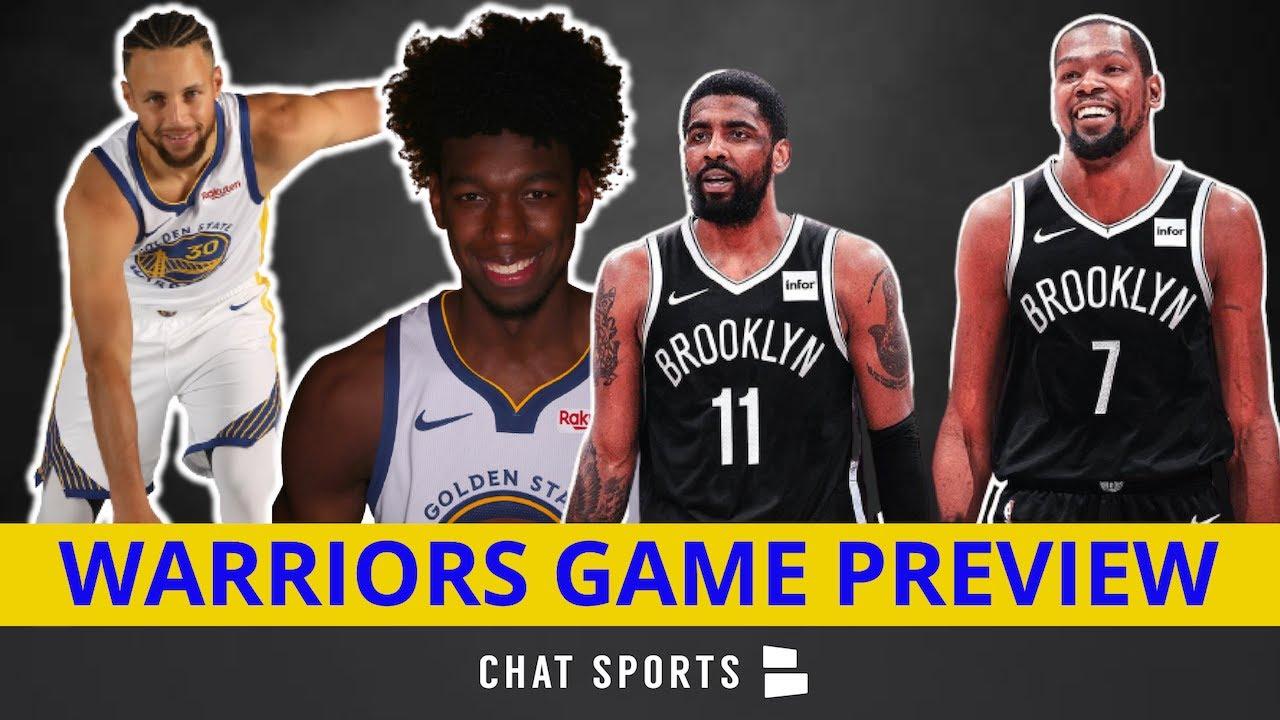 NBA Opening Night Live Score and Updates: Warriors vs. Nets