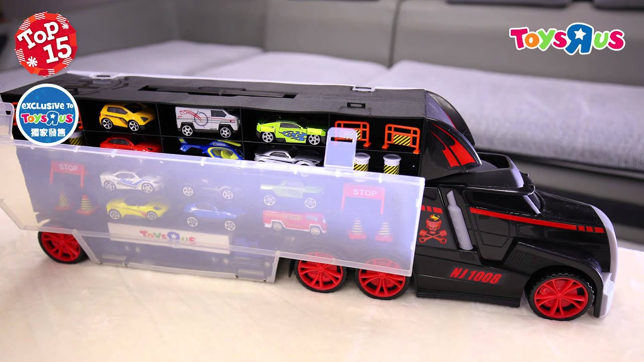 2014 Toys R Us Top 15 X Mas Toys Fast Lane Truck Carry