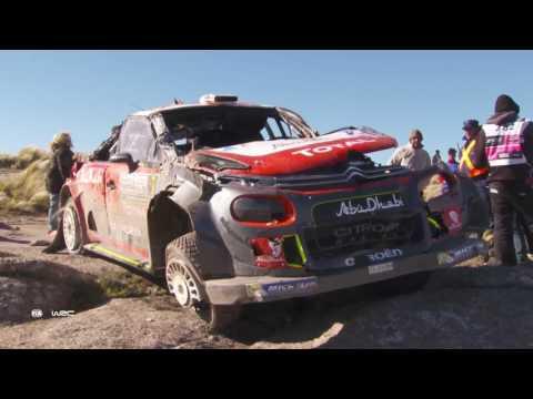 Нёвиль выиграл Ралли Аргентины WRC, опередив Эванса на 0,7 секунды