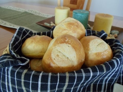 No-Knead Artisan Dinner Rolls (Four Ingredients... No Mixer... No Yeast Proofing)
