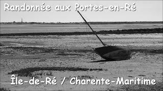 Randonnée les Portes-en-Ré, Charente-Maritime (17).