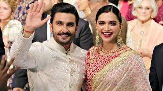 Deepika Padukone And Ranveer Singh At Isha Ambani Wedding