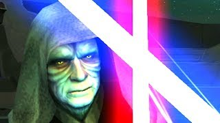 Star Wars: The Force Unleashed (PS2, Wii)) - Light Side Ending - The Emperor Boss Fight