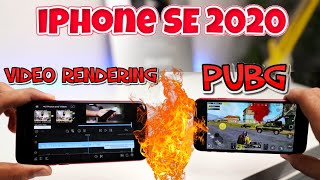 iPhone SE 2020 Pubg Gaming & Video Rendering | Performance Test