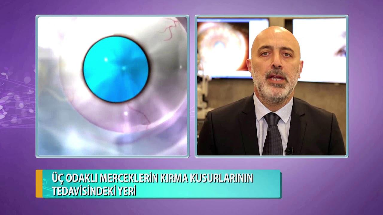 Trifokal Merceklerin Kırma Kusurlarının Tedavisindeki Yeri Op. Dr. Hakan Sivrikaya