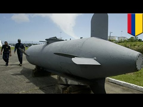 Narco-torpedo: Colombian cartels are using high-tech torpedoes to smuggle drugs - TomoNews