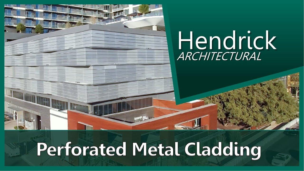 Architectural Metal Cladding Parking Garage Screen