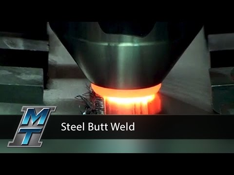 Friction Stir Steel Butt Weld Demonstration