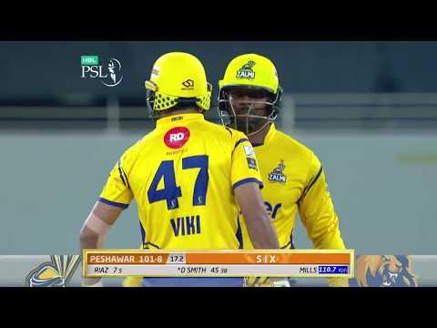 Dwayne Smith Batting | Karachi Kings Vs Peshawar Zalmi | Match 7 | 25 Feb | HBL PSL 2018 | PSL