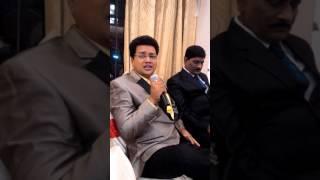"Vinod Pawar in "" De Dhamal "" karaoke night, song "" chehra he ya chand khula hay """