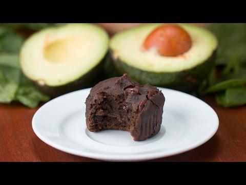 Spinach & Avocado Brownie Bites