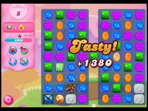 Candy Crush Saga Level 3235 - NO BOOSTERS