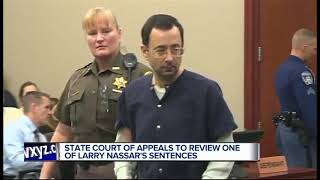 MI Court of Appeals will review one of Larry Nassar's sentences