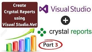 Görsel Studio.Net içinde Sıfırdan Kristal Rapor Oluşturma! Bölüm 3