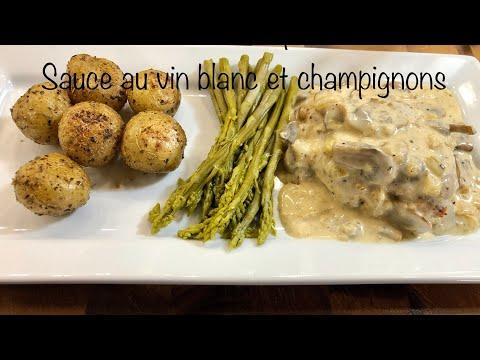 poitrines-de-poulet,-sauce-crémeuse-au-vin-blanc-et-champignons