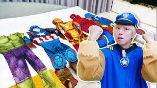 슈퍼히어로 말이야 위험에 빠진 친구 도와주기 Superheroes Super Hero Rescue Mission for kids & children