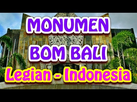 wisata-indonesia-:-monumen-bom-bali,-lambang-perdamaian-di-pusat-wisata-legian---bali.-020