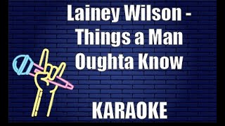 Lainey Wilson Things A Man Oughta Know Live Full Band Performance - مهرجانات