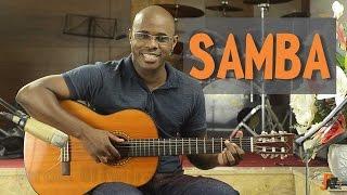 Samba (DJAVAN) - Aula de violão - Batida / Ritmo