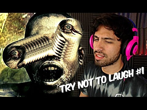 TRY NOT TO LAUGH (Resident Evil Edition) • Nacho Thursdays