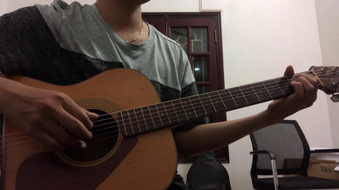 Mỗi Khi Em Cười ( Long cao - Sạc Pin Trái Tim OST) - Guitar cover Sun