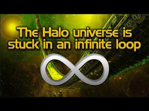 How the Halo universe could be stuck in an infinite loop