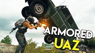 Armored UAZ! (New PUBG Event) - PlayerUnknown's Battlegrounds