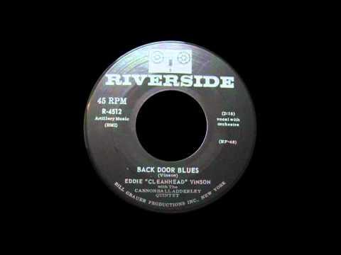 """EDDIE """"CLEANHEAD"""" VINSON - Back Door Blues ~Exotic Blues~"""