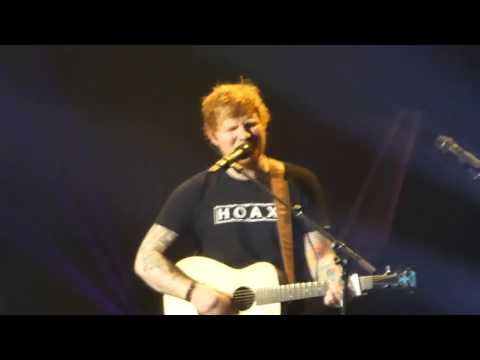 Ed Sheeran - The A Team - Live Stockholm Globe
