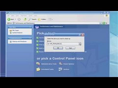 Windows XP : How to Delete Junk Files in Windows XP